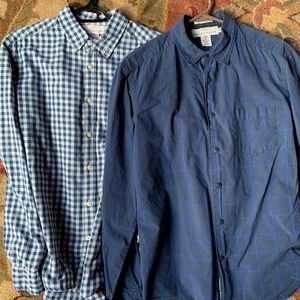 Lot of 2 H&M Button Down Shirts